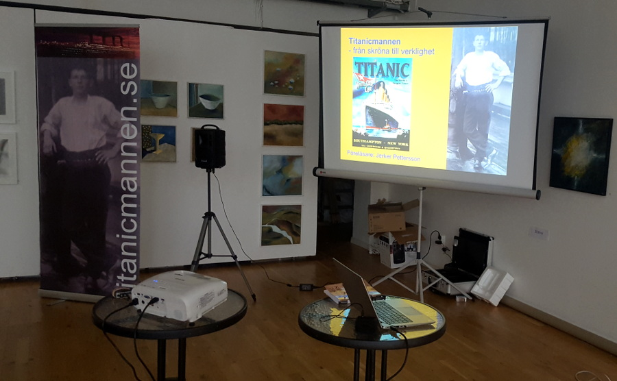 Föredrag i Nynäshamn 9 oktober